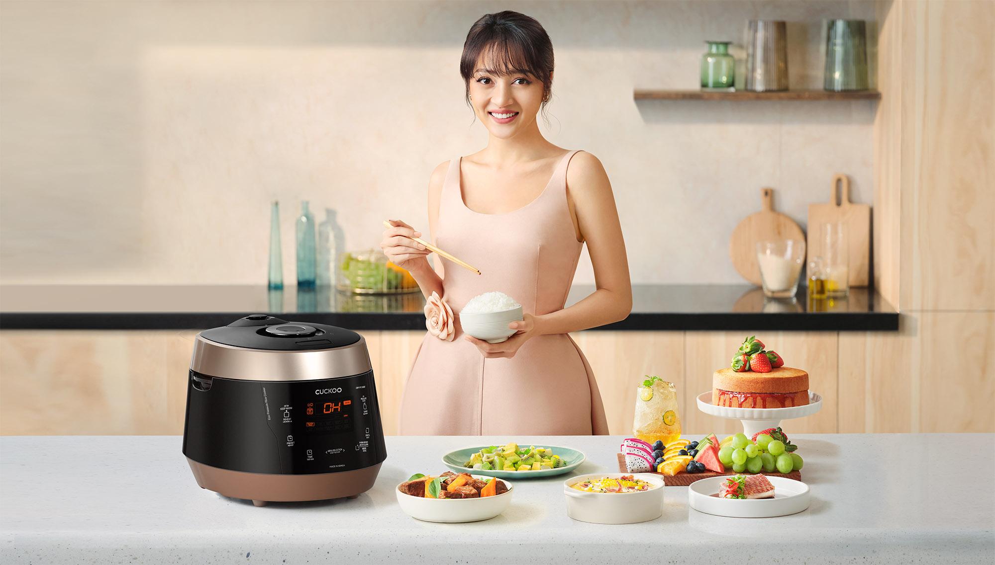 CUCKOO Rice Cooker Key Visual